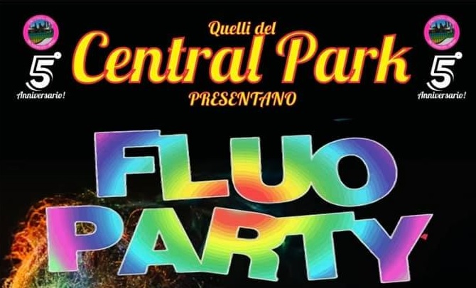 Central Park Fluo Party